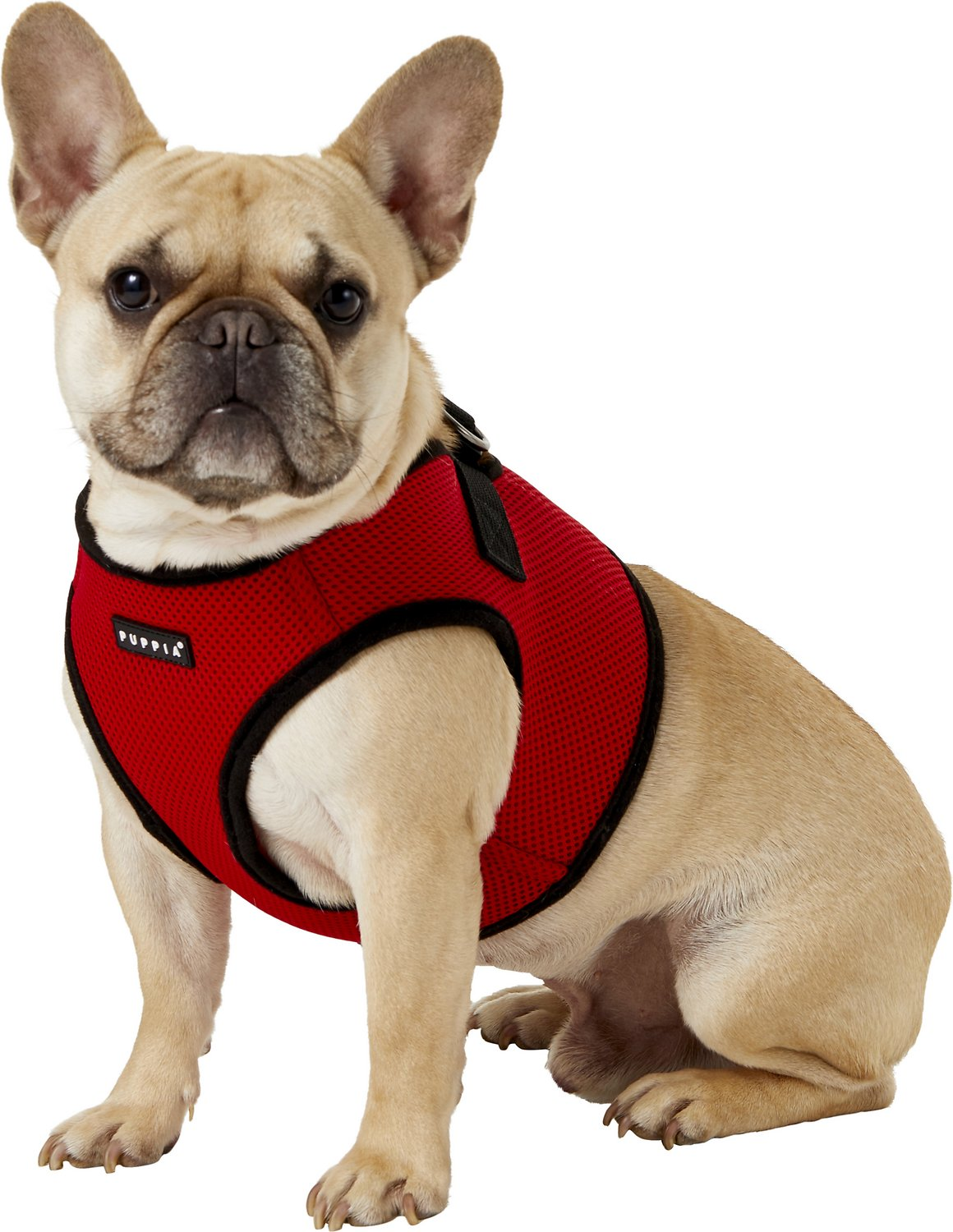 Puppia Soft Vest Dog Harness  Red  X-large