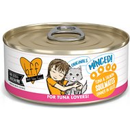 BFF Tuna & Salmon Soulmates Dinner in Gelee Canned Cat Food, 5.5-oz, case of 24