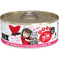 BFF Tuna Too Cool Dinner in Gelee Canned Cat Food, 5.5-oz, case of 24