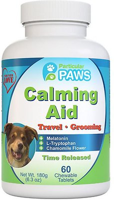 5. Particular Paws Calming Aid Dog Chewable Tablets