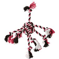 Zanies Crazy Eight Rope Dog Toy, Pink