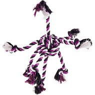 Zanies Crazy Eight Rope Dog Toy, Purple