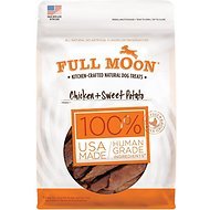Full Moon Chicken & Sweet Potato Dog Treats, 5-oz bag