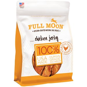 Full Moon Chicken Jerky Dog Treats, 6-oz bag
