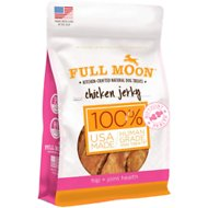 Full Moon Hip & Joint Health Chicken Jerky Dog Treats, 6-oz bag