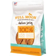 Full Moon Skin & Coat Health Chicken Jerky Dog Treats, 6-oz bag
