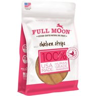 Full Moon Chicken Strips Dog Treats, 6-oz bag