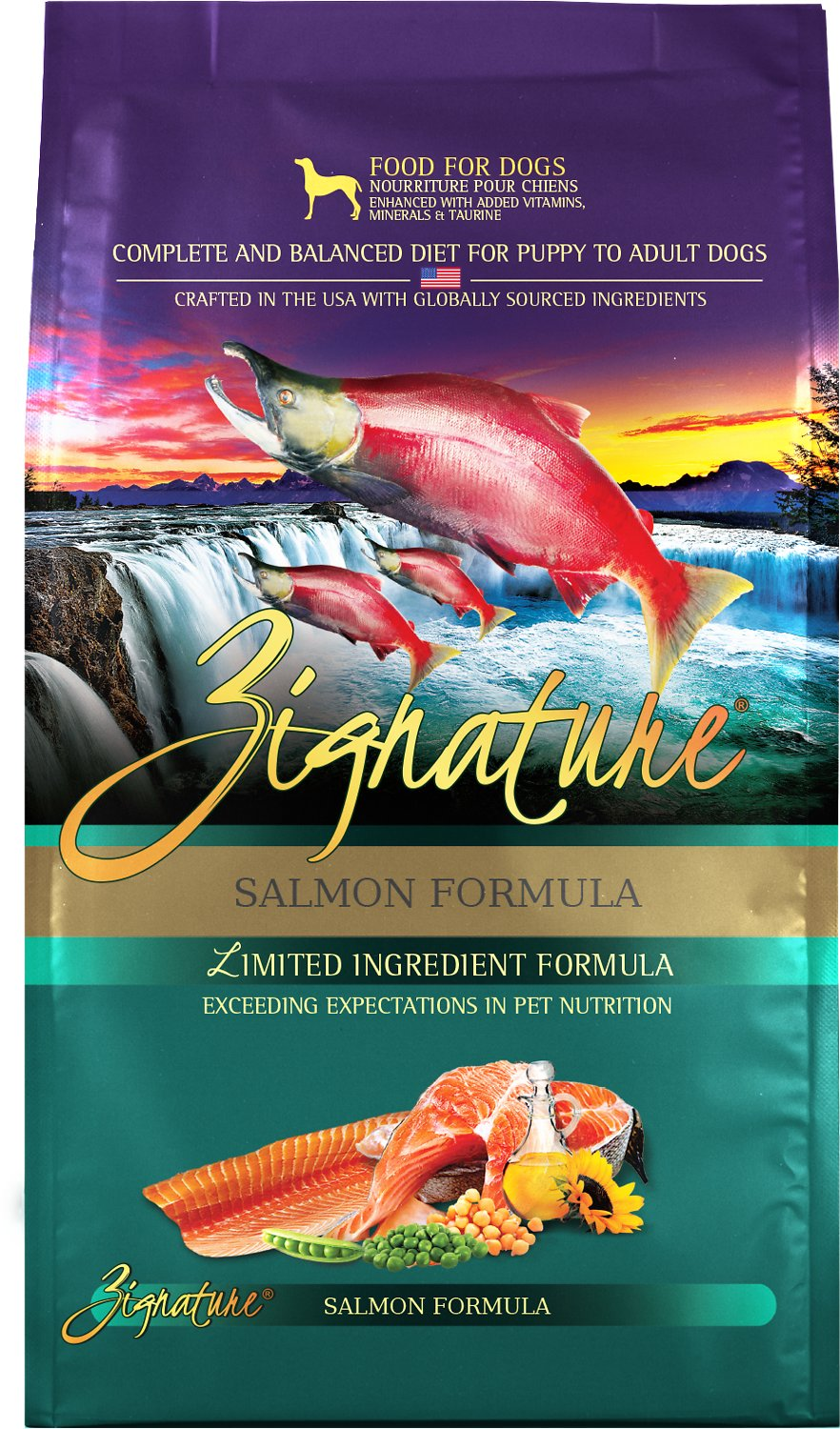 Zignature Salmon Limited Ingredient Formula Grain Free Dry