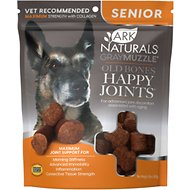 Ark Naturals Gray Muzzle Old Dogs! Happy Joints! Maximum Strength Dog Treats