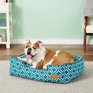P.L.A.Y. Pet Lifestyle and You Moroccan Lounge Bed, Teal, Medium