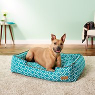 P.L.A.Y. Pet Lifestyle and You Moroccan Lounge Bed, Teal, Large