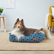 P.L.A.Y. Pet Lifestyle and You Moroccan Lounge Bed, Navy, Medium