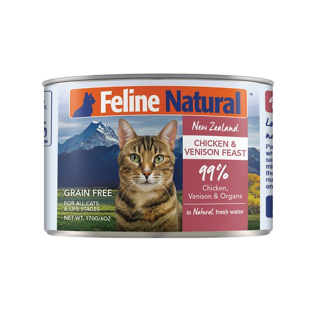 Feline Natural Chicken & Venison Feast Grain-Free Canned Cat Food ...