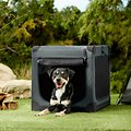 Frisco Indoor & Outdoor 3-Door Collapsible Soft-Sided Dog Crate