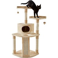 Frisco 48-Inch Cat Tree, Large Base, Cream
