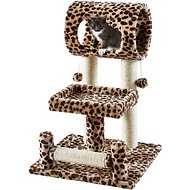 Frisco 28-in Cat Tree, Animal Print