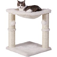 Frisco 20-in Faux Fur Cat Tree