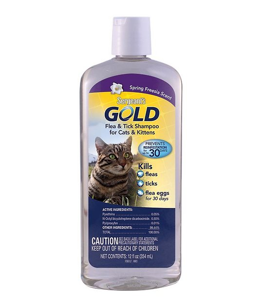Sergeants Cat Flea Shampoo Reviews