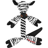 Jolly Pets Flathead Zebra Dog Toy, Large