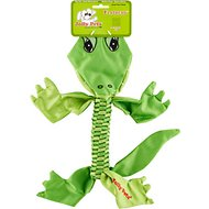 Jolly Pets Flathead Alligator Dog Toy, Small