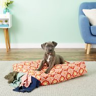 Molly Mutt Amarillo By Morning Square Dog Duvet Cover