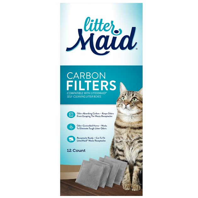 Littermaid Carbon Filters For Self Cleaning Cat Litter Box