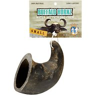 QT Dog Buffalo Hornz Water Buffalo Horn Dog Treat, Small