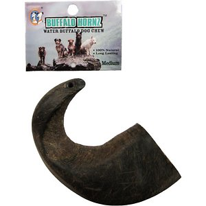 QT Dog Buffalo Hornz Water Buffalo Horn Dog Treat