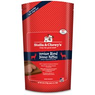 Stella & Chewy's Venison Blend Dinner Patties Raw Frozen Dog Food, 6-lb bag