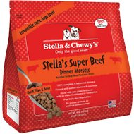 Stella & Chewy's Stella's Super Beef Dinner Morsels Raw Frozen Dog Food, 4-lb bag