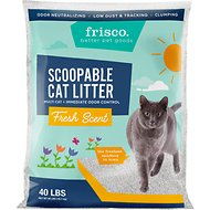 Frisco Scented Multi-Cat Clumping Cat Litter, 40-lb bag