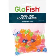 GloFish Accent Gravel For Aquariums, 2.8-oz bag