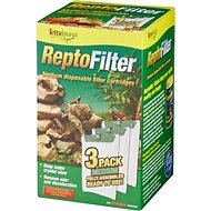 Tetrafauna ReptoFilter Cartridges Replacements, 3 Count, Medium, 90 GPH