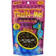 Crazy Dog Train-Me! Minis Beef Flavor Dog Treats, 4-oz bag