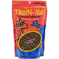 Crazy Dog Train-Me! Bacon Flavor Dog Treats, 1-lb bag