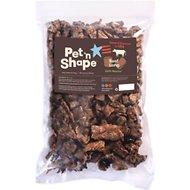 Pet 'n Shape USA All-Natural Chewz Beef Lungs Dog Treats, 1-lb bag