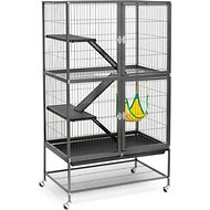 Prevue Pet Products Feisty Ferret Home, Black Hammertone
