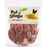 Pet 'n Shape Chik 'n Breast Dog Treats, 2-lb tub