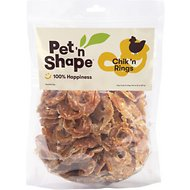 Pet 'n Shape Chik 'n Rings Dog Treats, 2-lb tub