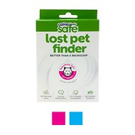 Platinum Pets Pawsitively Safe Pet Finder Tag for Cats, Small, Pink