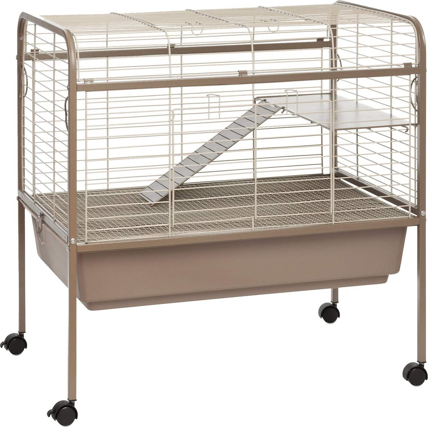 Prevue Pet Products Small Animal Cage, Coco & White - Chewy.com