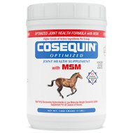 Nutramax Cosequin Optimized with MSM Powder Joint Health Horse Supplement, 3-lb tub
