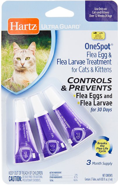 Flea treatments for cats that work