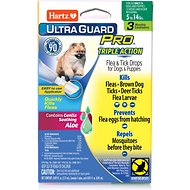 Hartz UltraGuard Pro Flea & Tick Treatment for Dogs & Puppies 5-14 lbs, 3 treatments