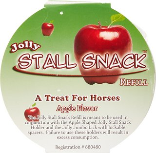 Horsemens Pride Stall Snack Holder with Apple Flavored Refill