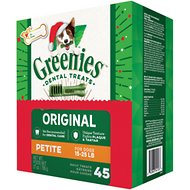 Greenies Season's Greenies Dental Dog Treats, Petite, 45 count