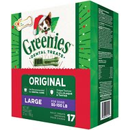 Greenies Season's Greenies Dental Dog Treats, Large, 17 count