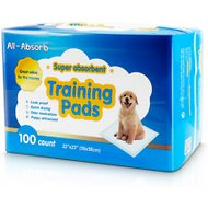 All-Absorb Super Absorbent Training Pads, 22 x 23 in, 100 count