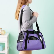 OxGord Pet Carrier, Purple, Small/Medium