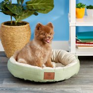 American Kennel Club Casablanca Round Pet Bed, Sage